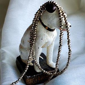 """Jewelry - 👑SEMIPRECIOUS 925 ROUGH CUT """"FOOLS GOLD"""" (PYRITE)"""